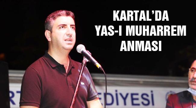 Kartal'da Yas-I Muharrem Anması Gerçekleştirildi