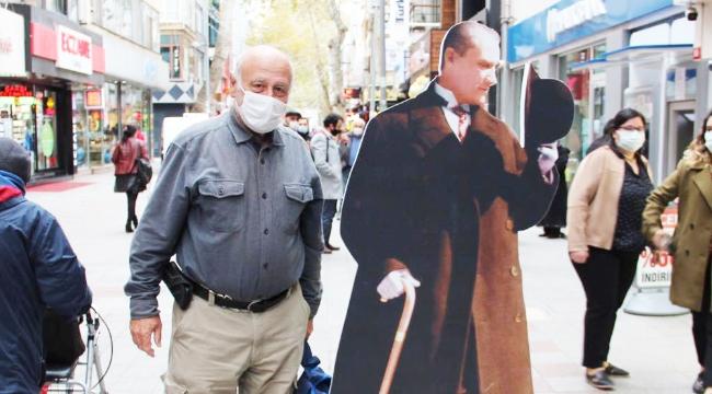 Atatürk Sevgisi Kartal'ı Sardı